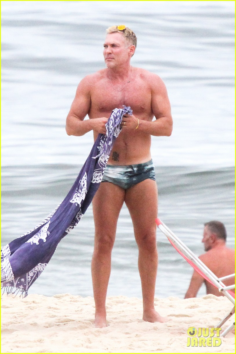 gmas sam champion shirtless buff beach time 013017872