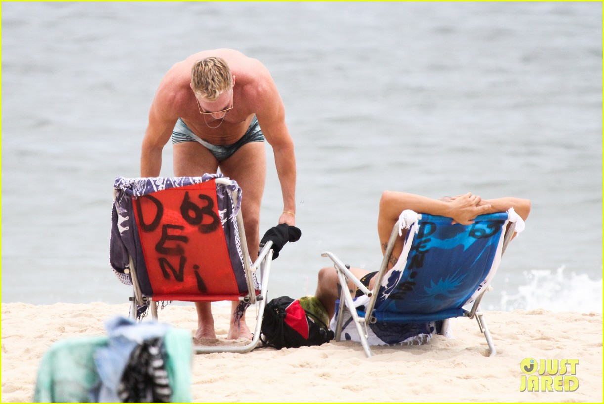 gmas sam champion shirtless buff beach time 19