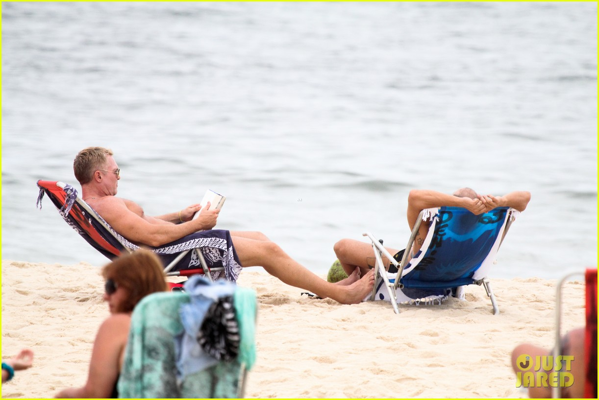 gmas sam champion shirtless buff beach time 343017905
