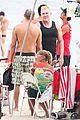 gmas sam champion shirtless buff beach time 05