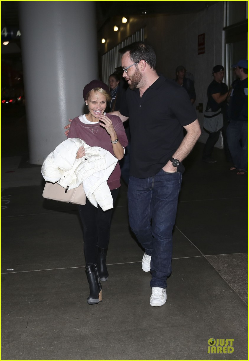 kristin chenoweth lax airport pick up from dana brunetti 23