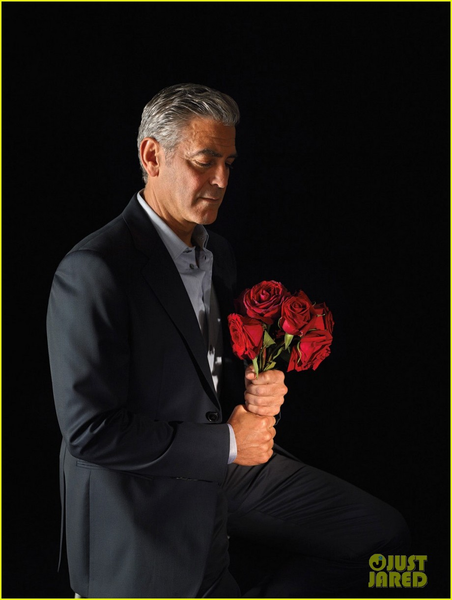 george clooney covers w magazine art issue 02