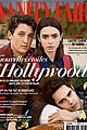 lily collins max minghella cover vanity fair france new hollywood issue
