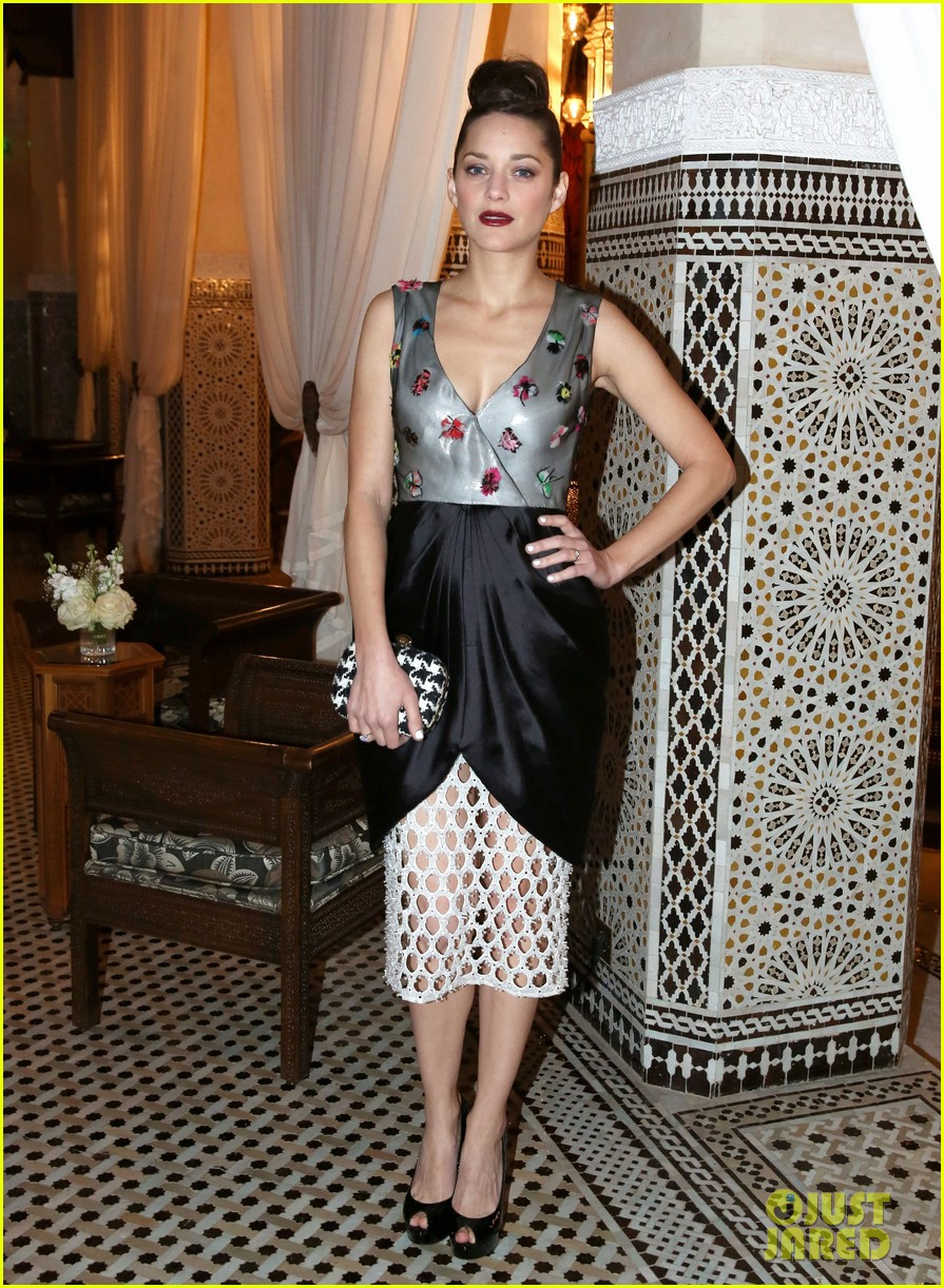 marion cotillard dior dinner at marrakech film festival 2013 06