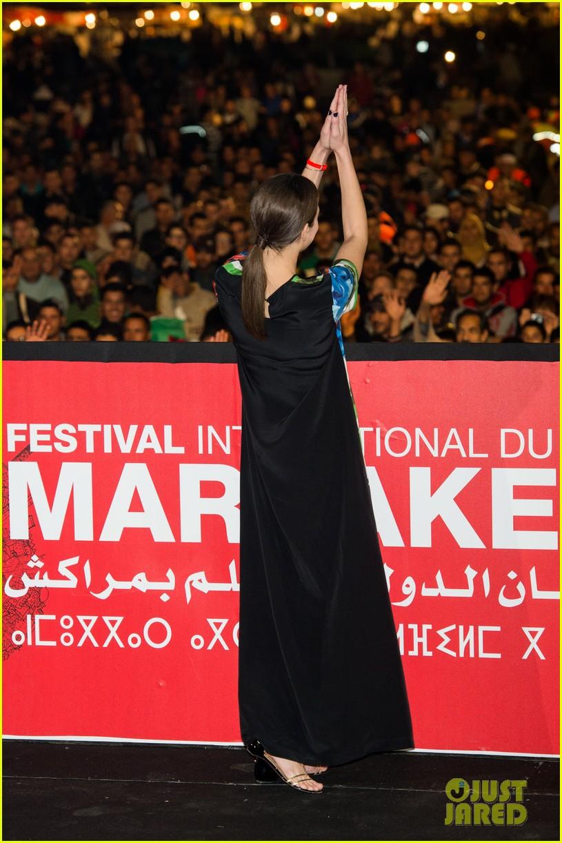 marion cotllard public enemies presentation in marrakech 03