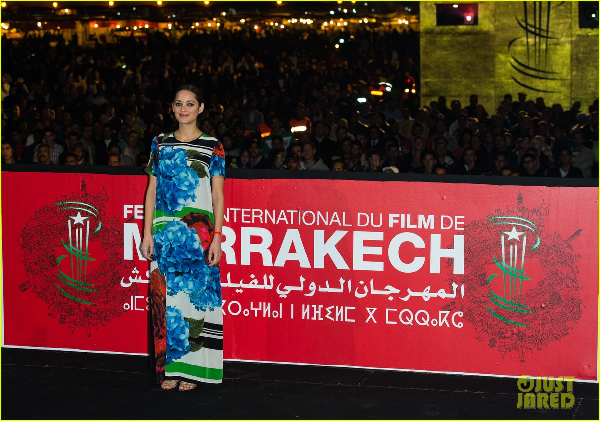 marion cotllard public enemies presentation in marrakech 17