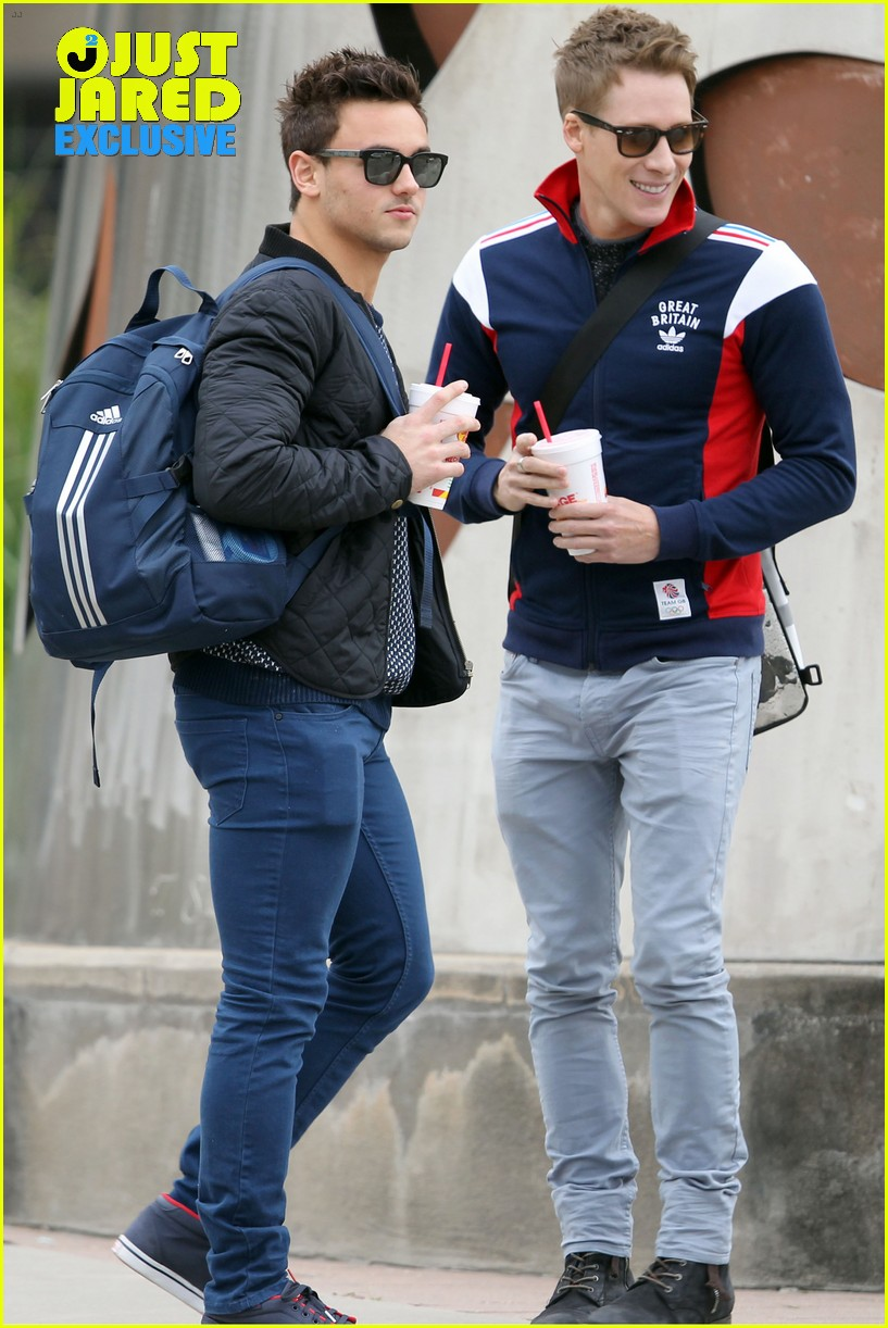 tom daley dustin lance black first couple photos exclusive 013010455