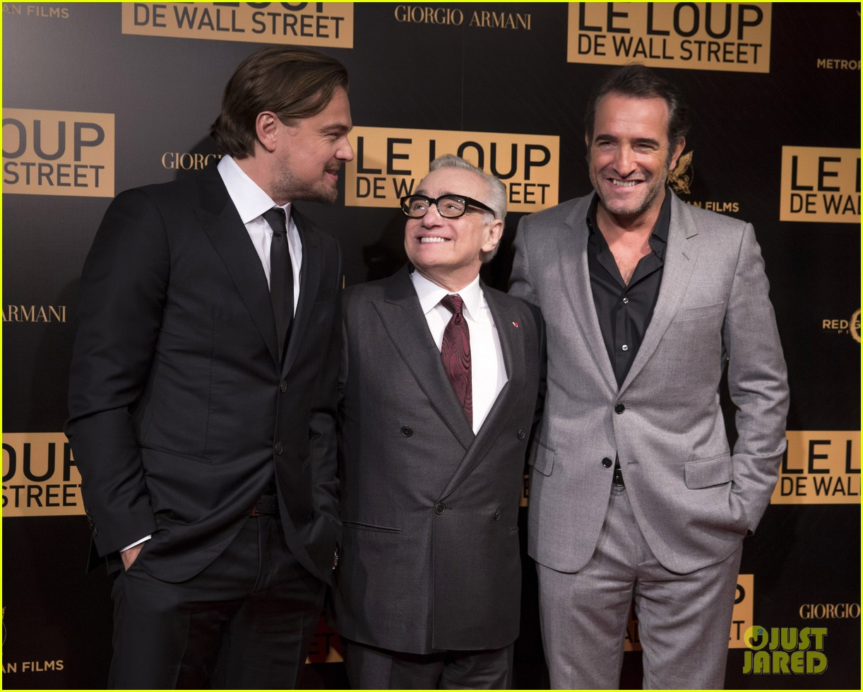 leonardo dicaprio wolf of wall street paris photo call 083008439