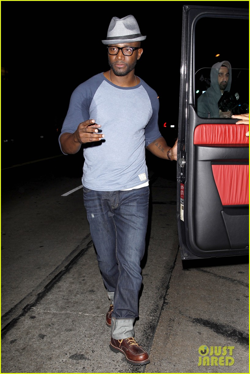 taye diggs sweats it out at post christmas club night 013018309