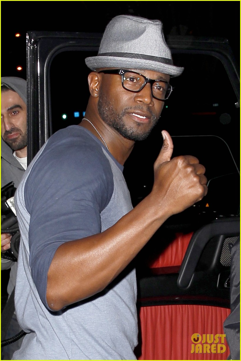 taye diggs sweats it out at post christmas club night 023018310