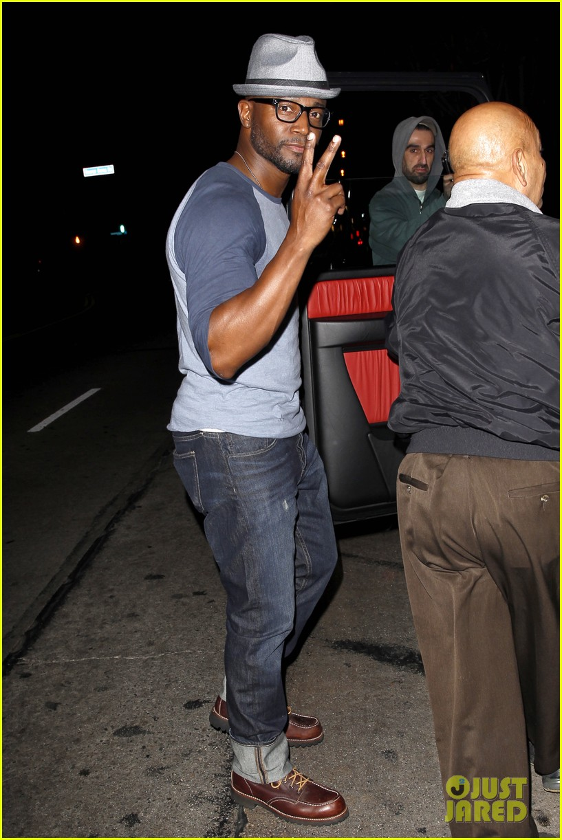 taye diggs sweats it out at post christmas club night 11