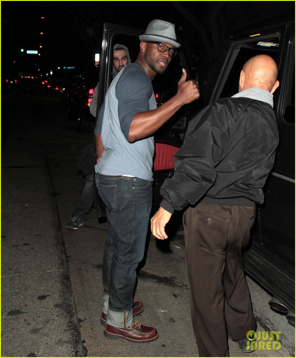 taye diggs sweats it out at post christmas club night 15