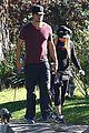 fergie josh duhamel dog walking duo 01