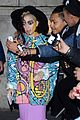 lady gaga paints eyeball on eyelid gives illusion eyes always open 04