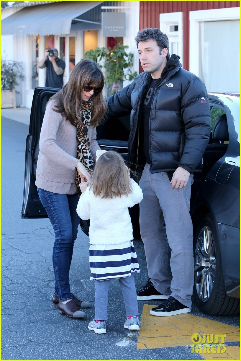 jennifer garner ben affleck wednesday morning breakfast 113009821