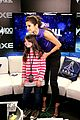 selena gomez bares midriff backstage at z100 jingle ball 03