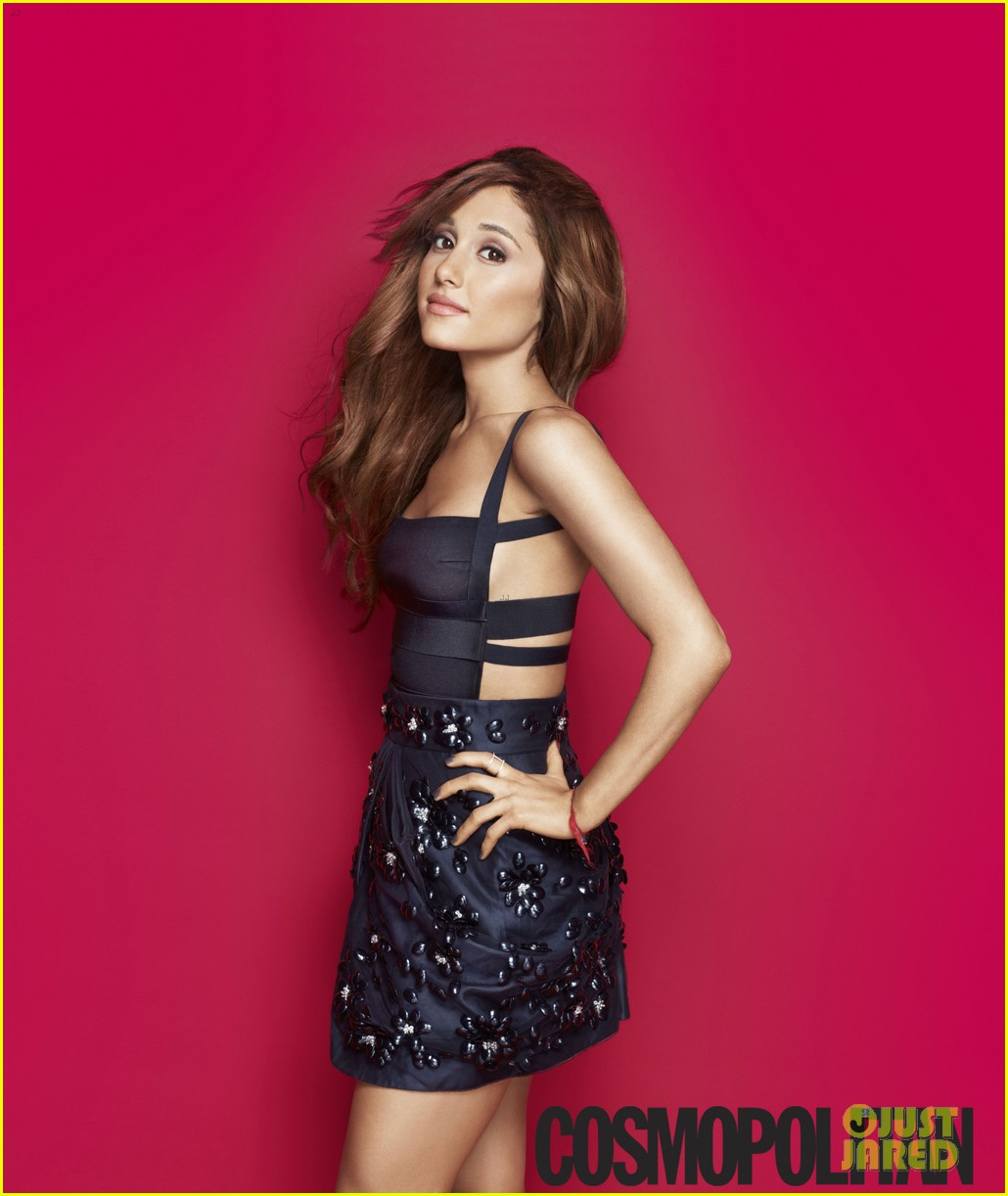 ariana grande covers cosmopolitan february 2014 01