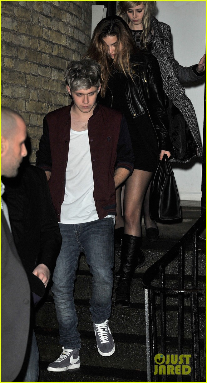 niall horan model barbara palvin hold hands at x factor uk 04