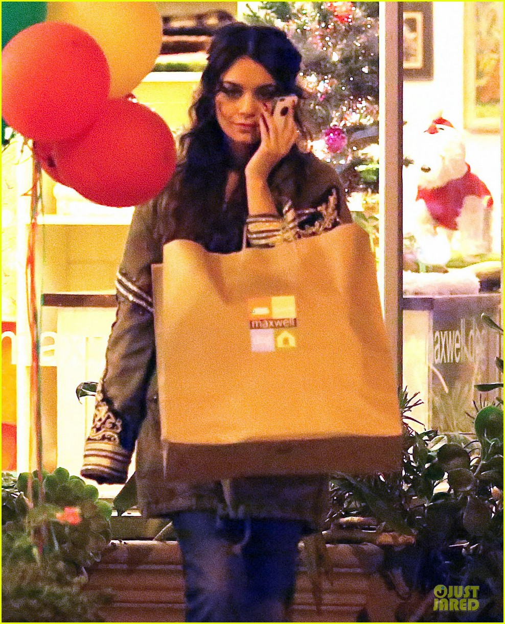 vanessa hudgens last minute holiday shopping at pet store 19