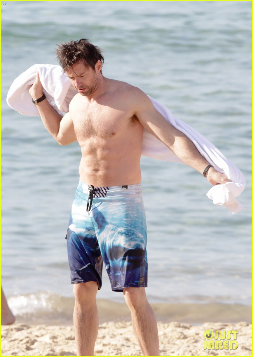 hugh jackman goes sexy shirtless after pan casting news 053015056