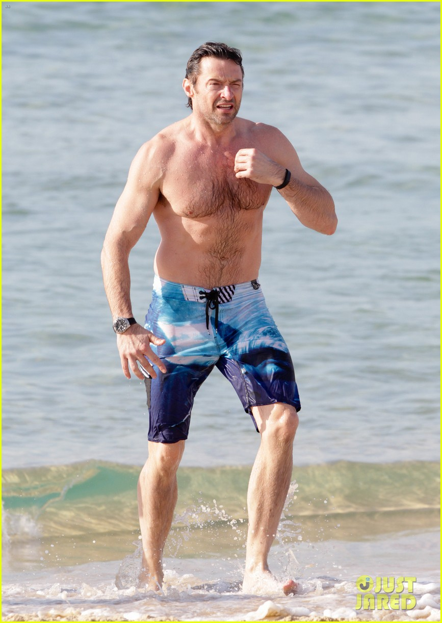 hugh jackman goes sexy shirtless after pan casting news 083015059
