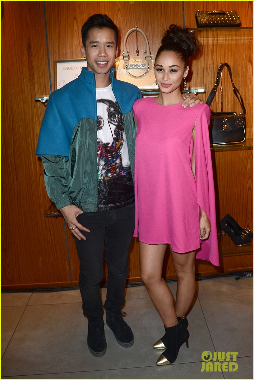 joe jonas celebrates cara santanas new blog launch exclusive pics 10