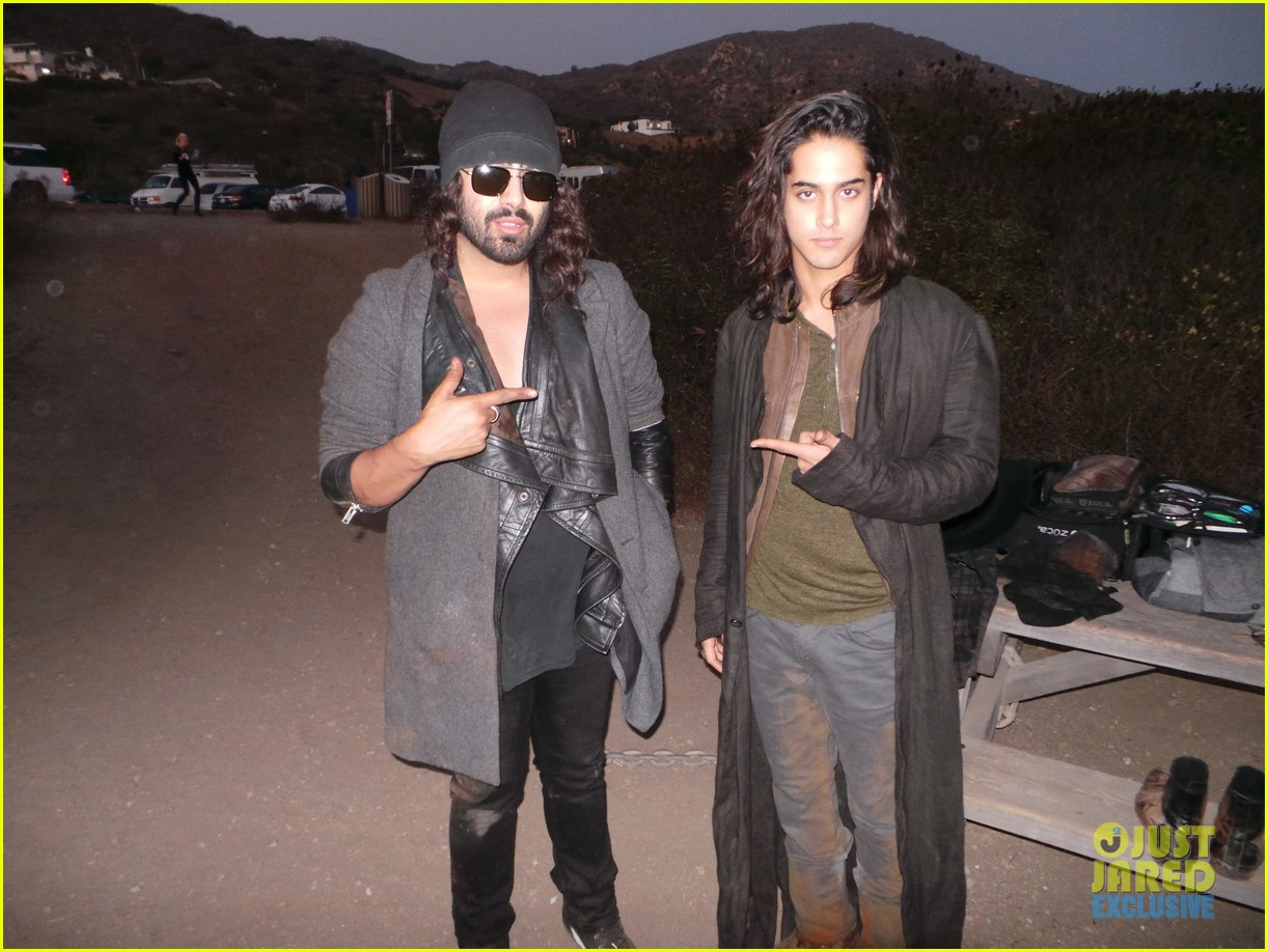 avan jogia jj spotlight of the week behind the scenes pics 10