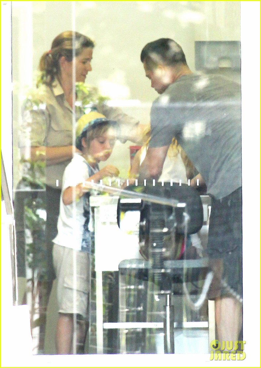 angelina jolie brad pitt visit the zoo with all six kids 37