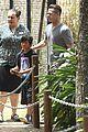 angelina jolie brad pitt visit the zoo with all six kids 06