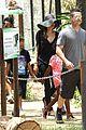 angelina jolie brad pitt visit the zoo with all six kids 14