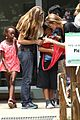 angelina jolie brad pitt visit the zoo with all six kids 46