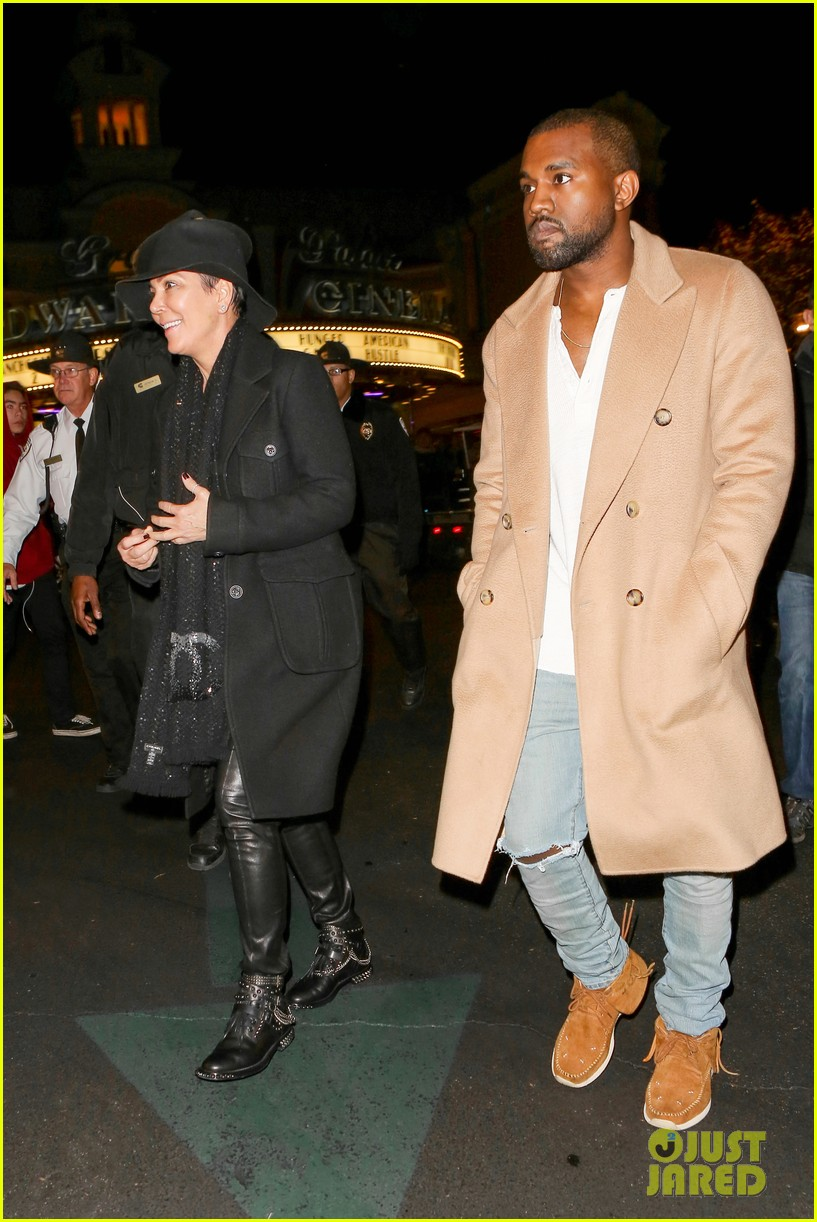 kim kardashian kanye west anchorman 2 with the family 30