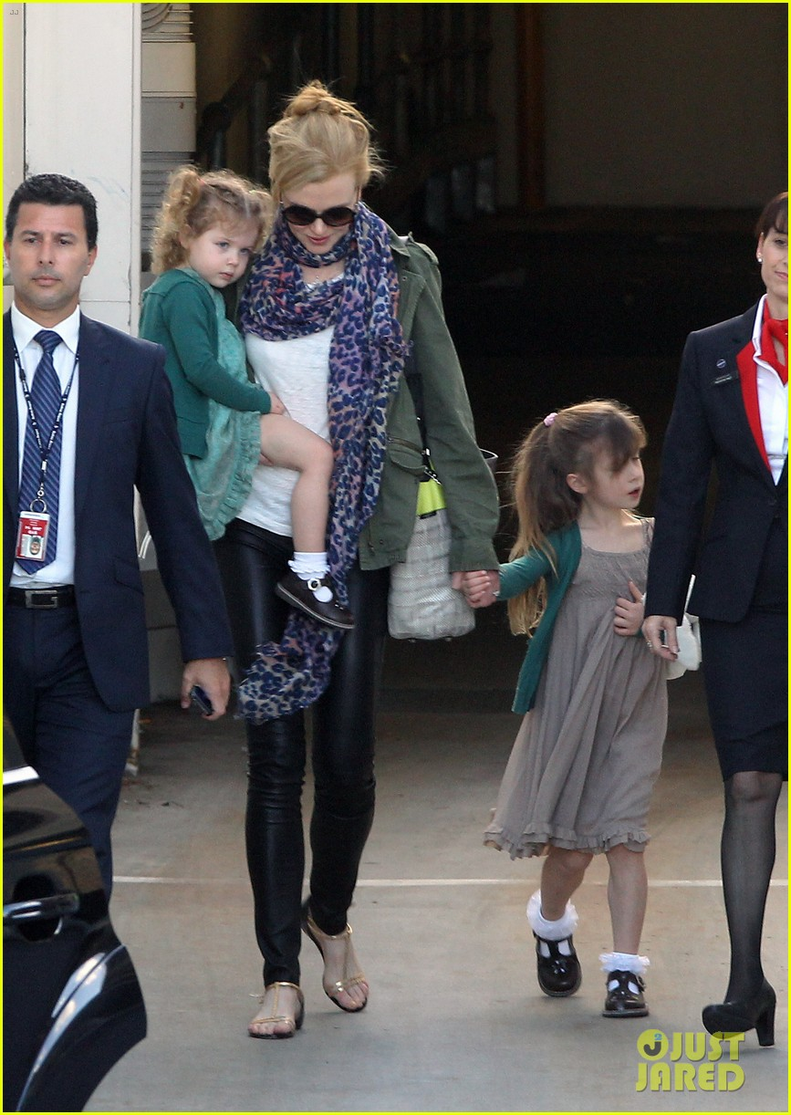 nicole kidman australia arrival with faith sunday 163014410