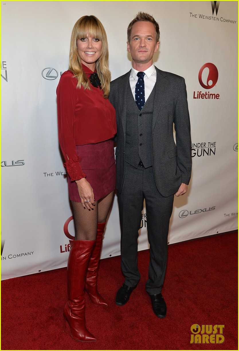 heidi klum neil patrick harris under the gunn finale fashion show 043013497