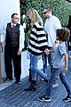 heidi klum post thanksgiving lunch with the kids 15