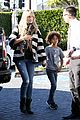 heidi klum post thanksgiving lunch with the kids 20