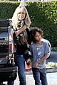 heidi klum post thanksgiving lunch with the kids 21