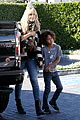 heidi klum post thanksgiving lunch with the kids 25