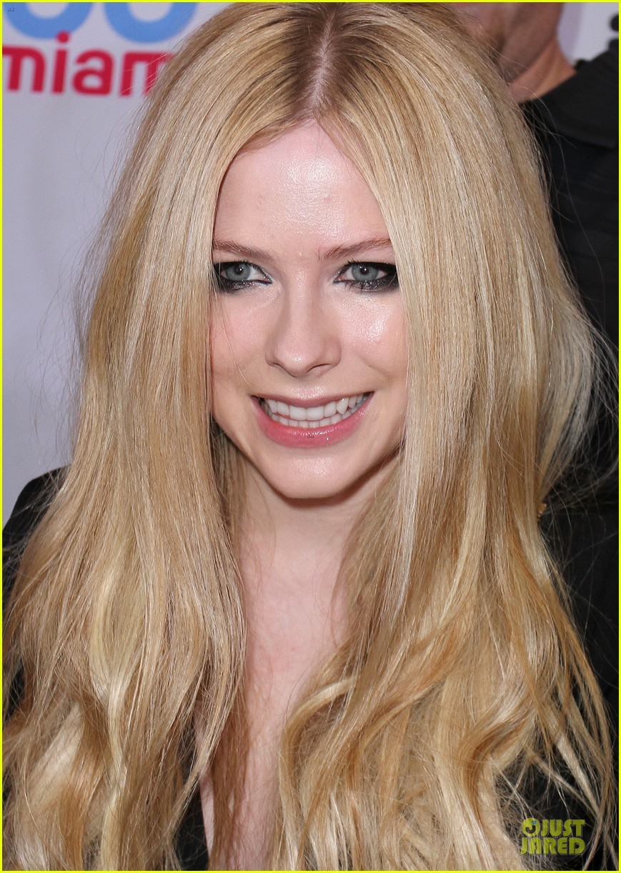 avril lavigne chad kroeger y100 jingle ball 2013 pair 22