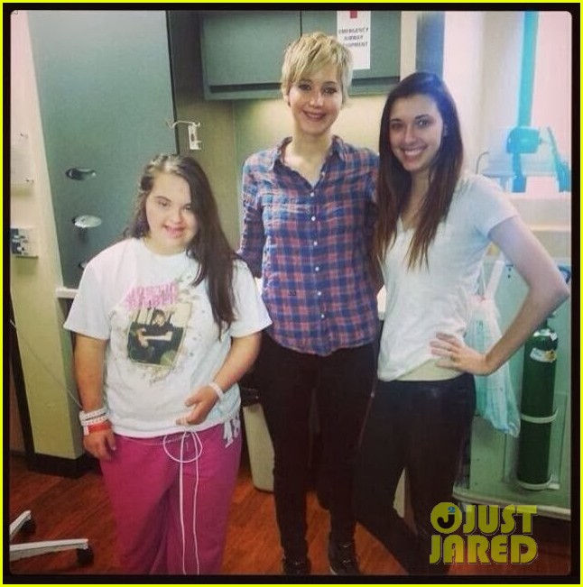 jennifer lawrence visits childrens hospital in louisville 053017250