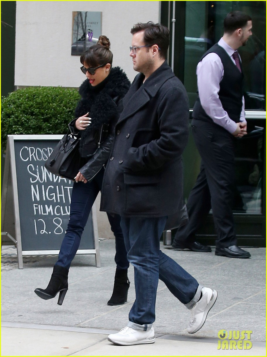 lea michele begins album promo work in nyc 053004218
