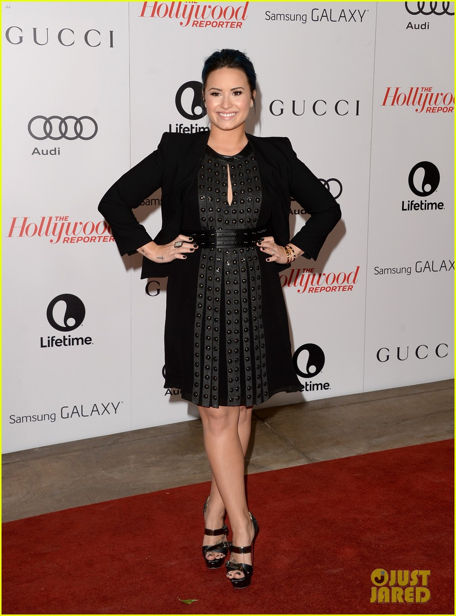 demi lovato naya rivera thr breakfast babes 08