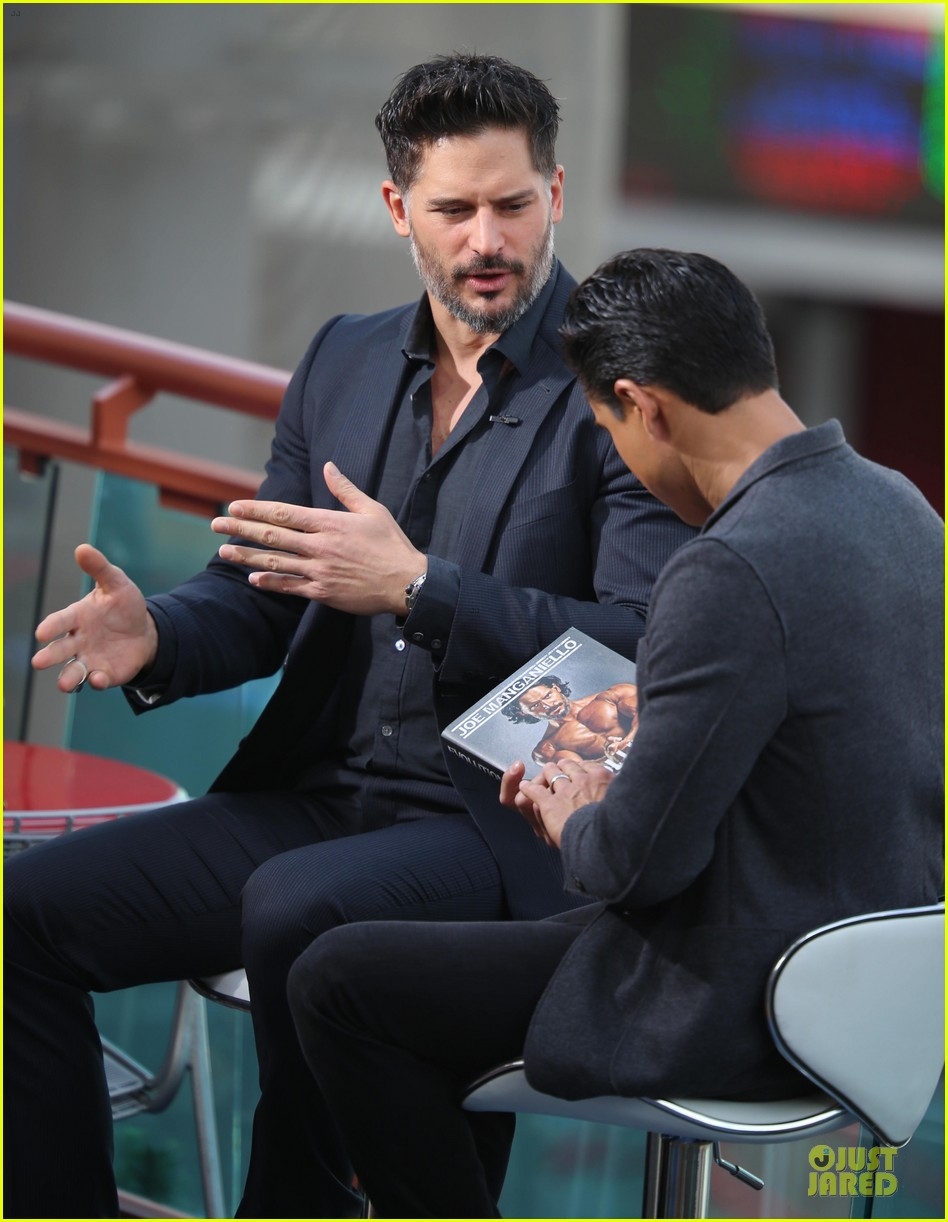joe manganiello evolution promo on extra appearance 04