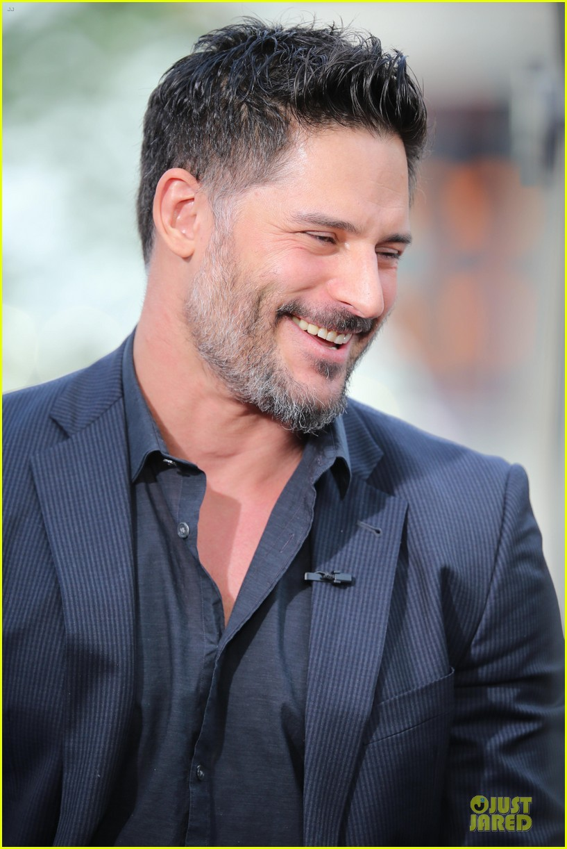 joe manganiello evolution promo on extra appearance 093013279