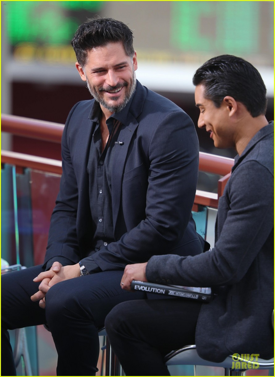 joe manganiello evolution promo on extra appearance 113013281