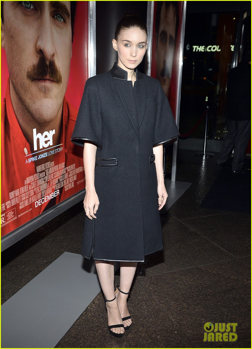 rooney mara her premiere with sister kate mara 033011096