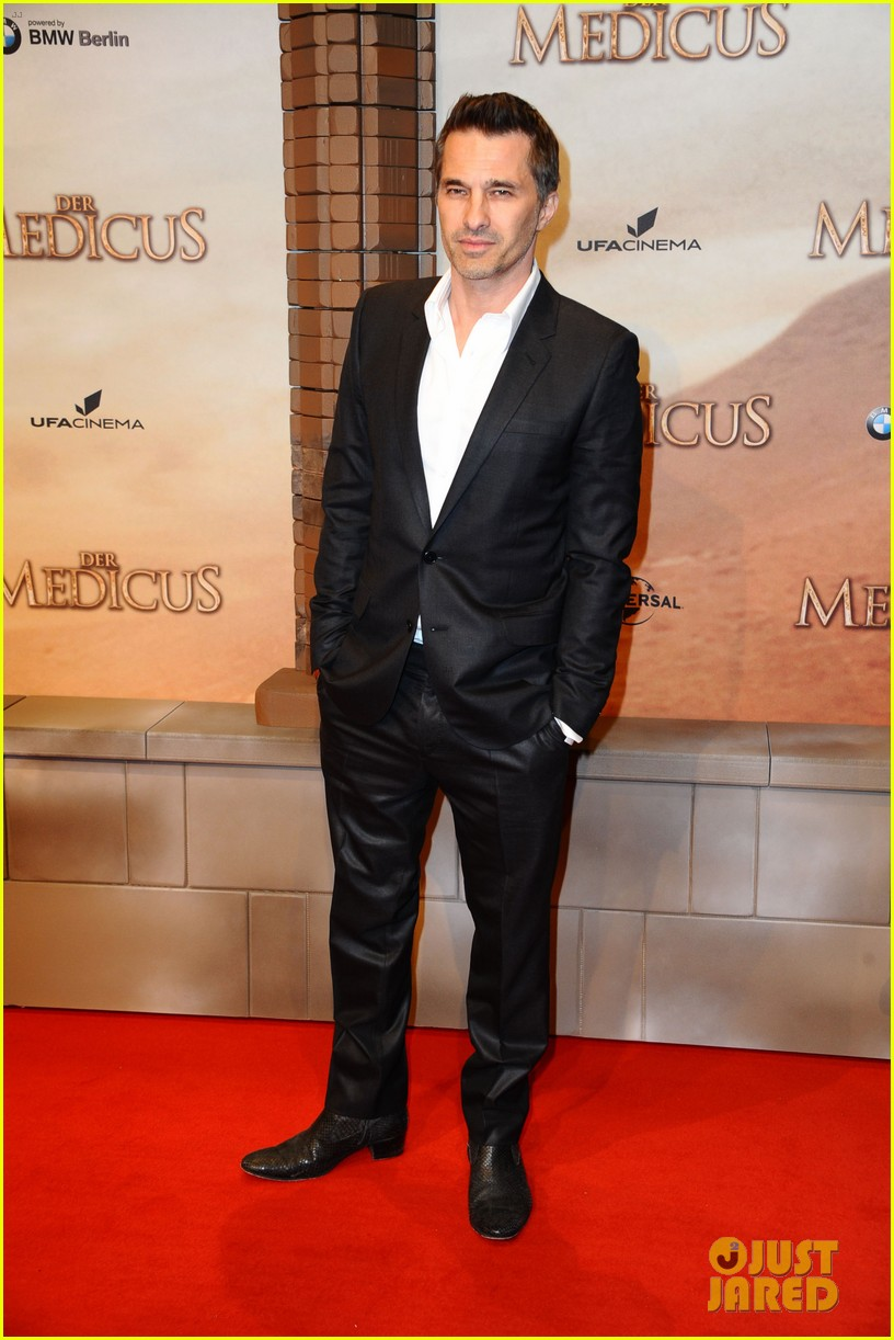 olivier martinez the physician german premiere 143013522