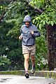matthew mcconaughey braves the rain for a run in brazil 14