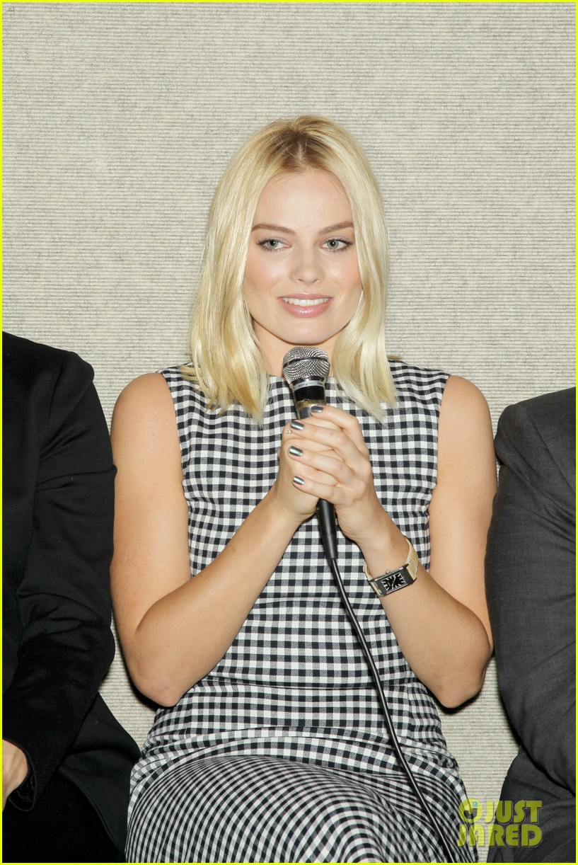 matthew mcconaughey wolf of wall street luncheon with margot robbie 343014600