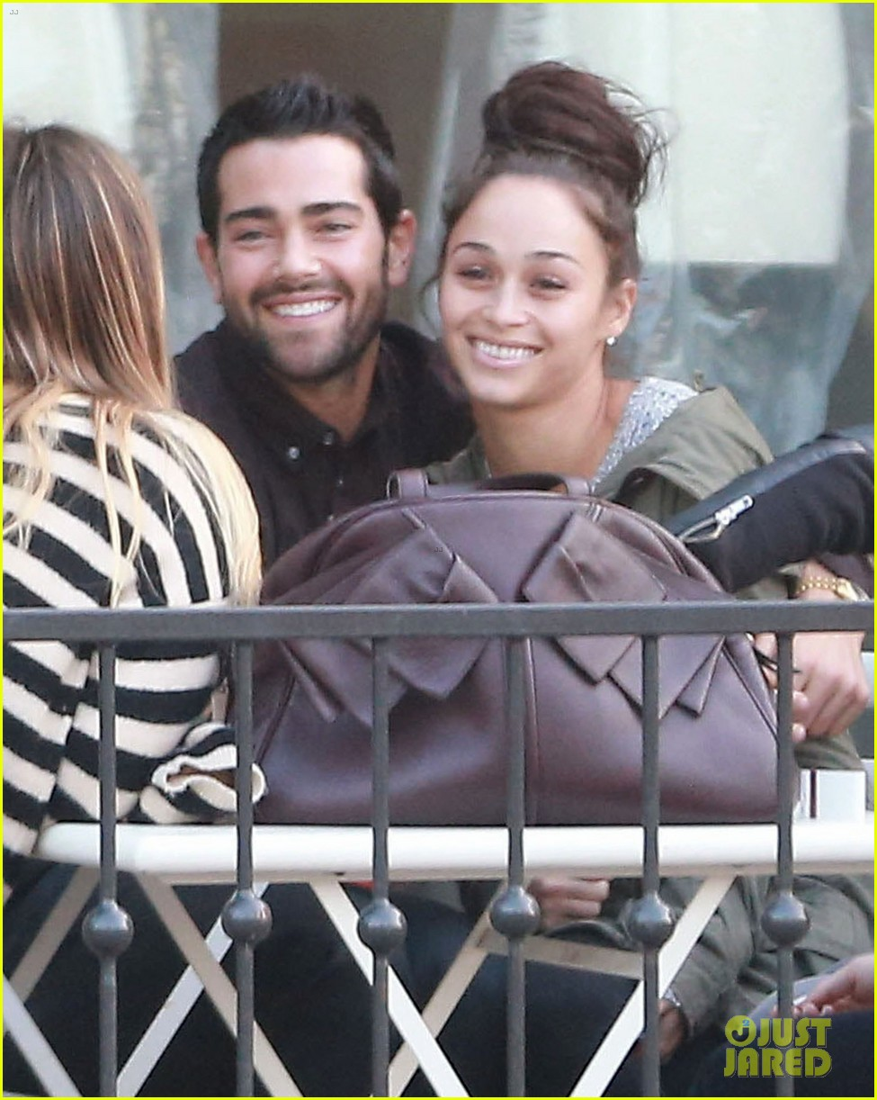 jesse metcalfe cara santana lunch with the jew crew 023016122